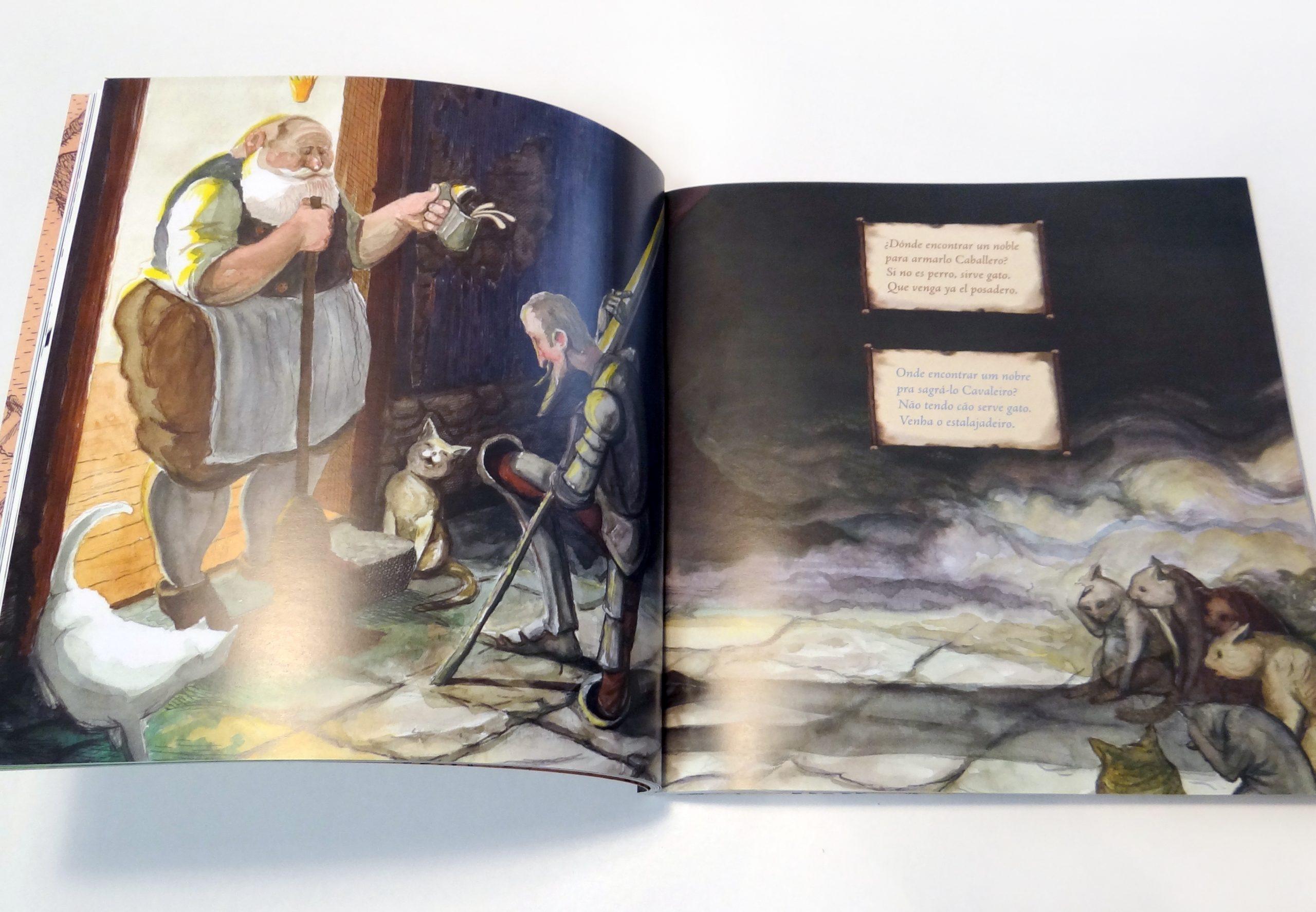 Lançada obra Don Quixote em espanhol